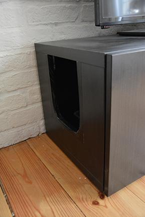 le meuble t l liti re la fabrique diy. Black Bedroom Furniture Sets. Home Design Ideas