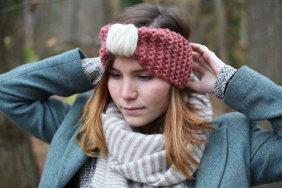 Chaud devant : le headband en laine !