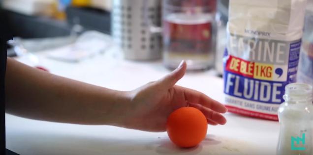 bricolage balles de jonglage