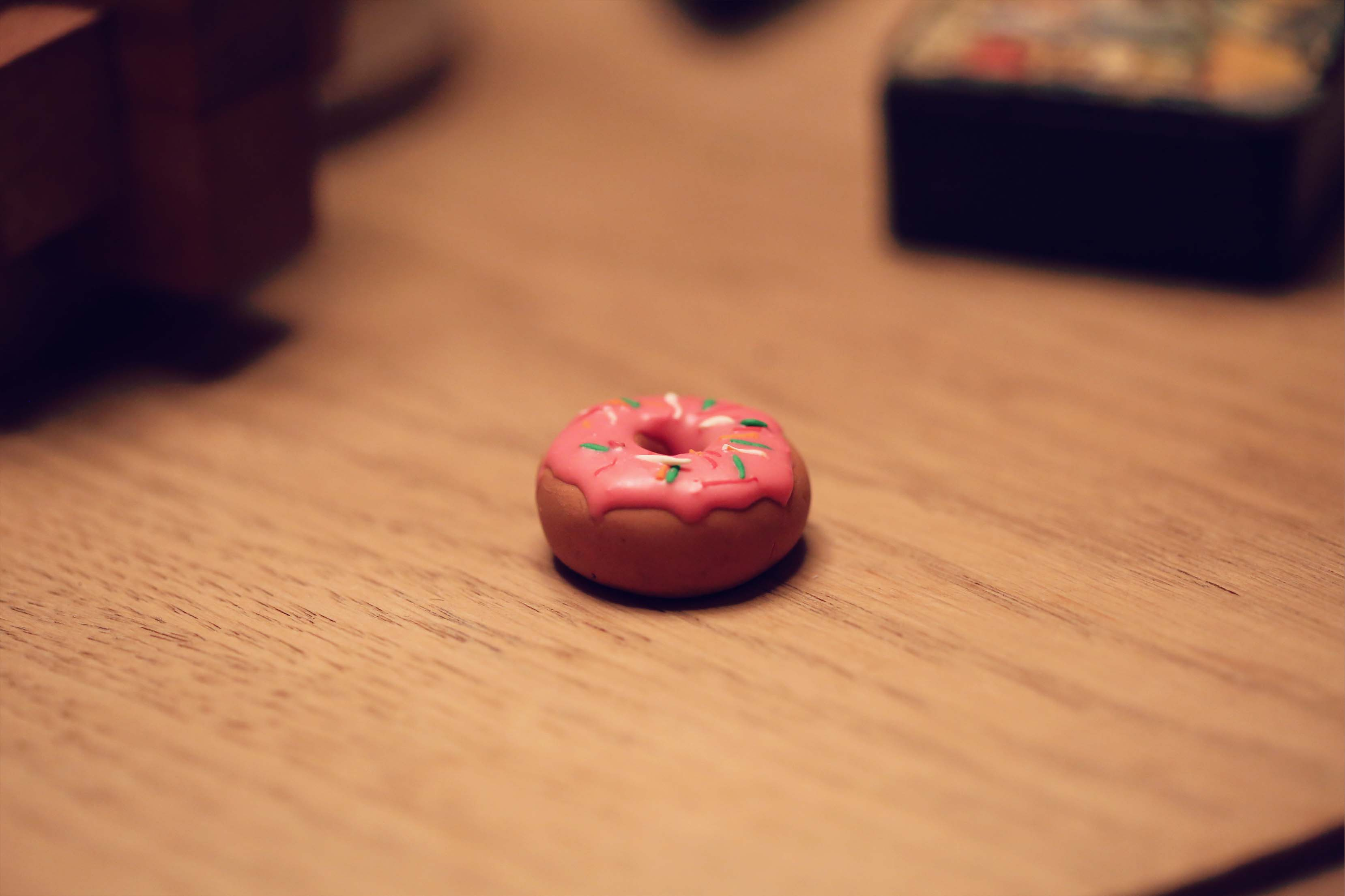 Photo principale de Collier donut en Fimo
