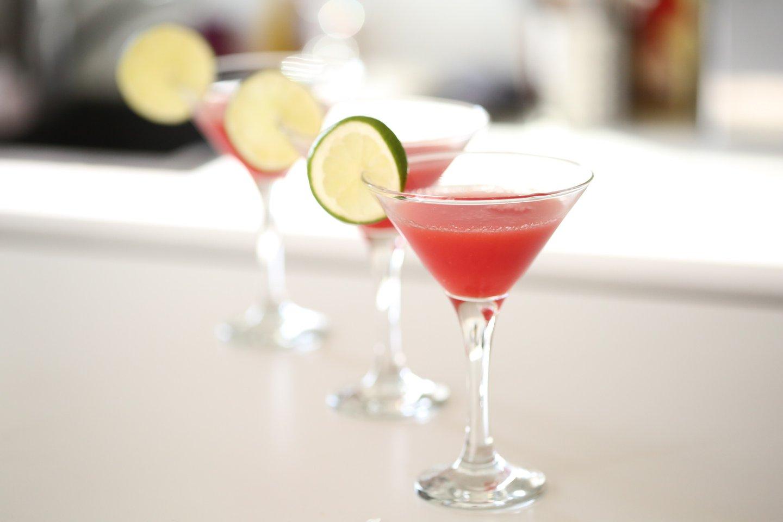 Cocktail Vodka Pastèque