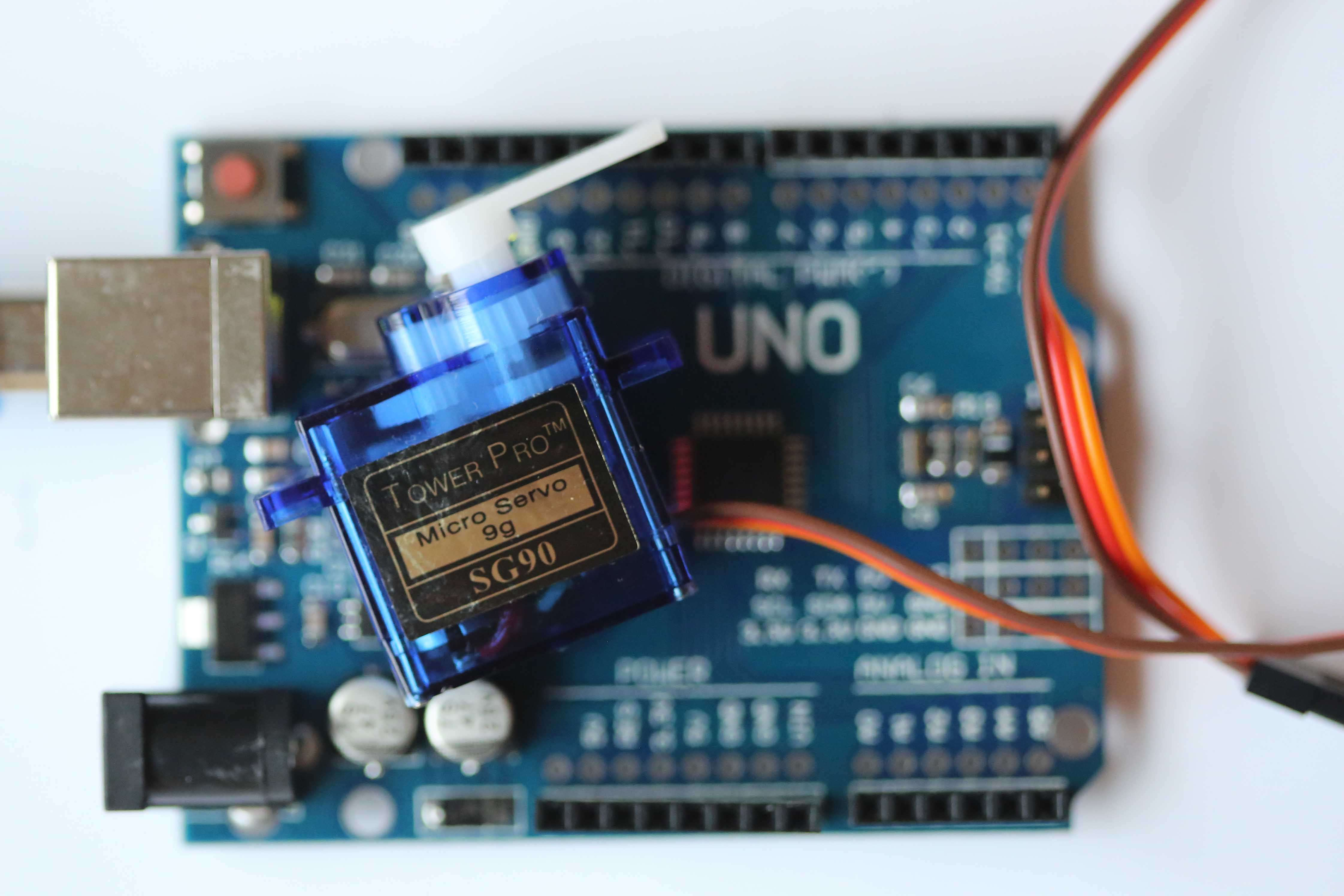 Commander un servo-moteur #Arduino3
