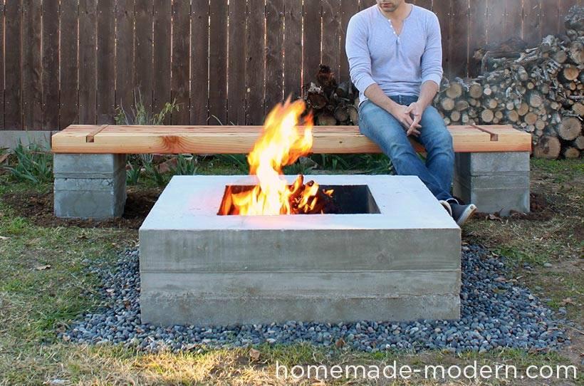 un banc pour votre jardin la fabrique diy. Black Bedroom Furniture Sets. Home Design Ideas