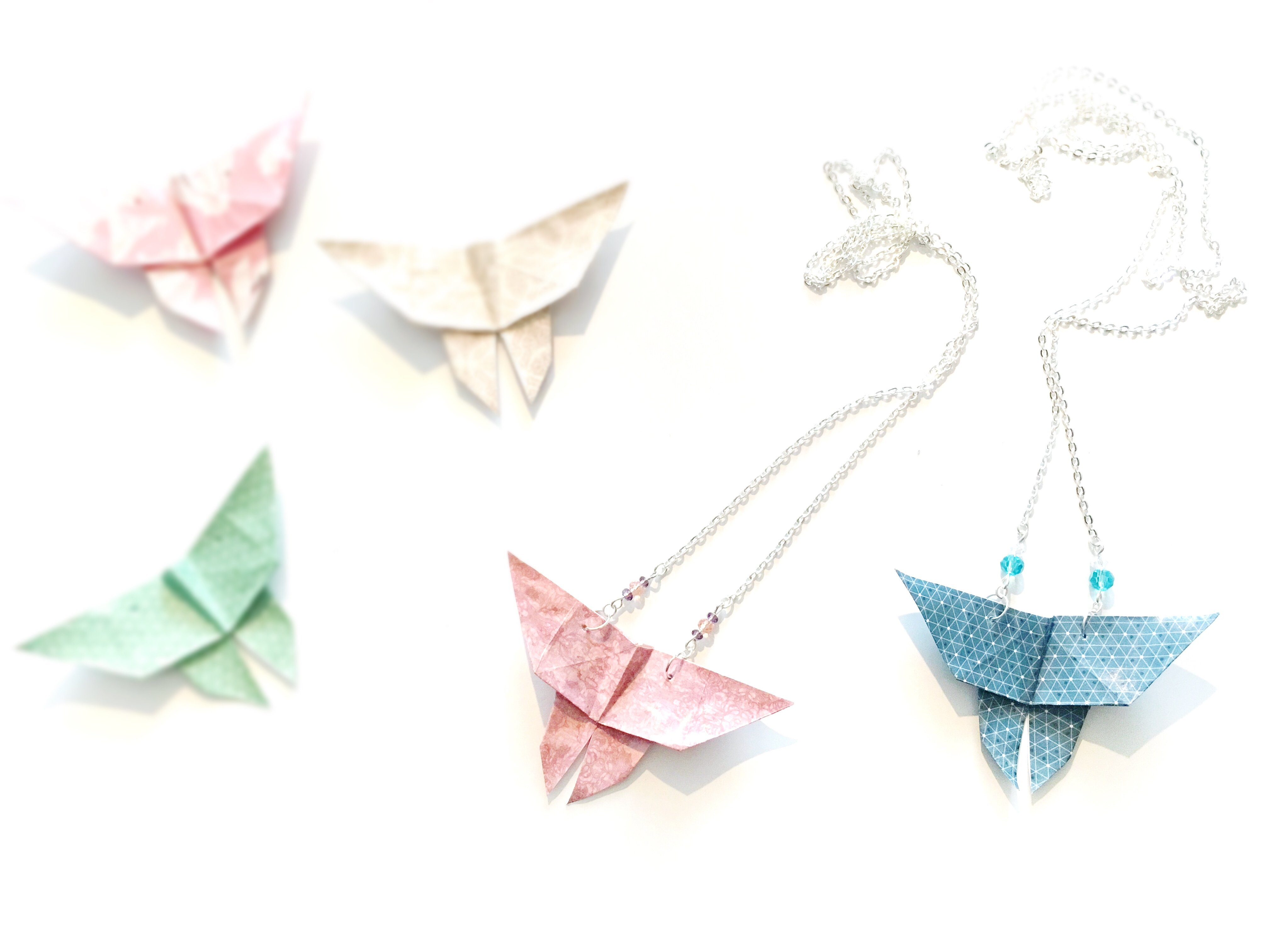 Collier Origami