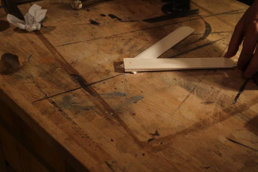 Assembler un boomerang