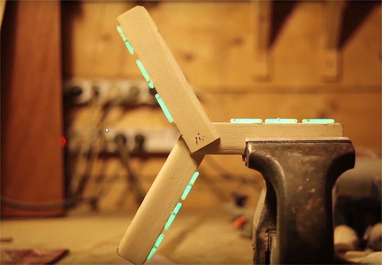 Fabriquer un boomerang phosphorescent