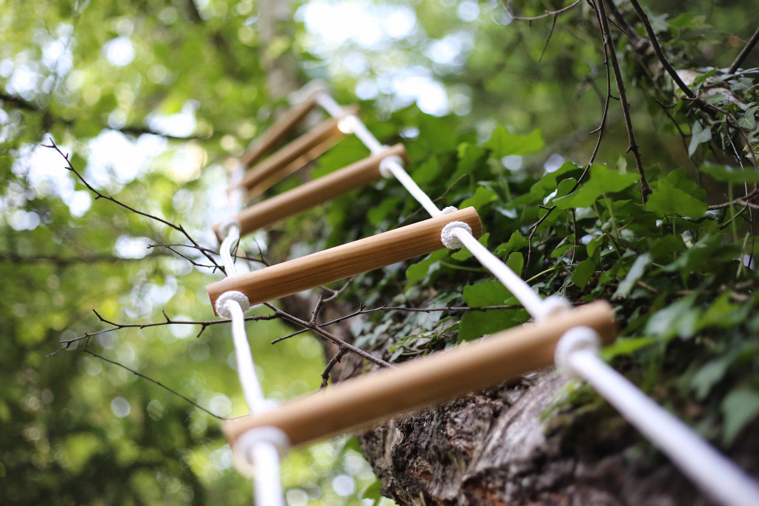 Fabriquer une échelle de corde