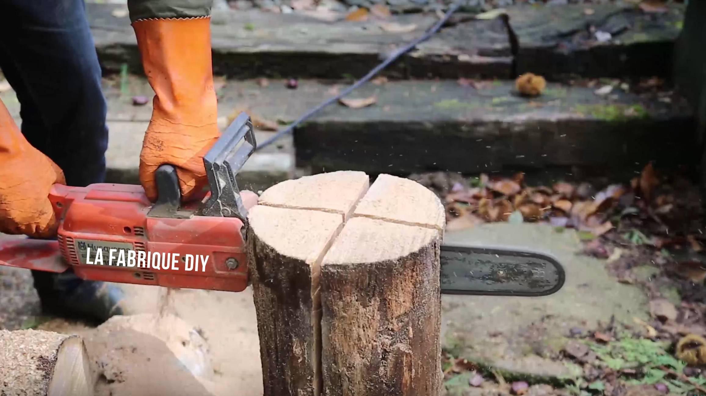 Construire un chevalet pour couper du bois - Fabriquer un chevalet pour couper du bois ...