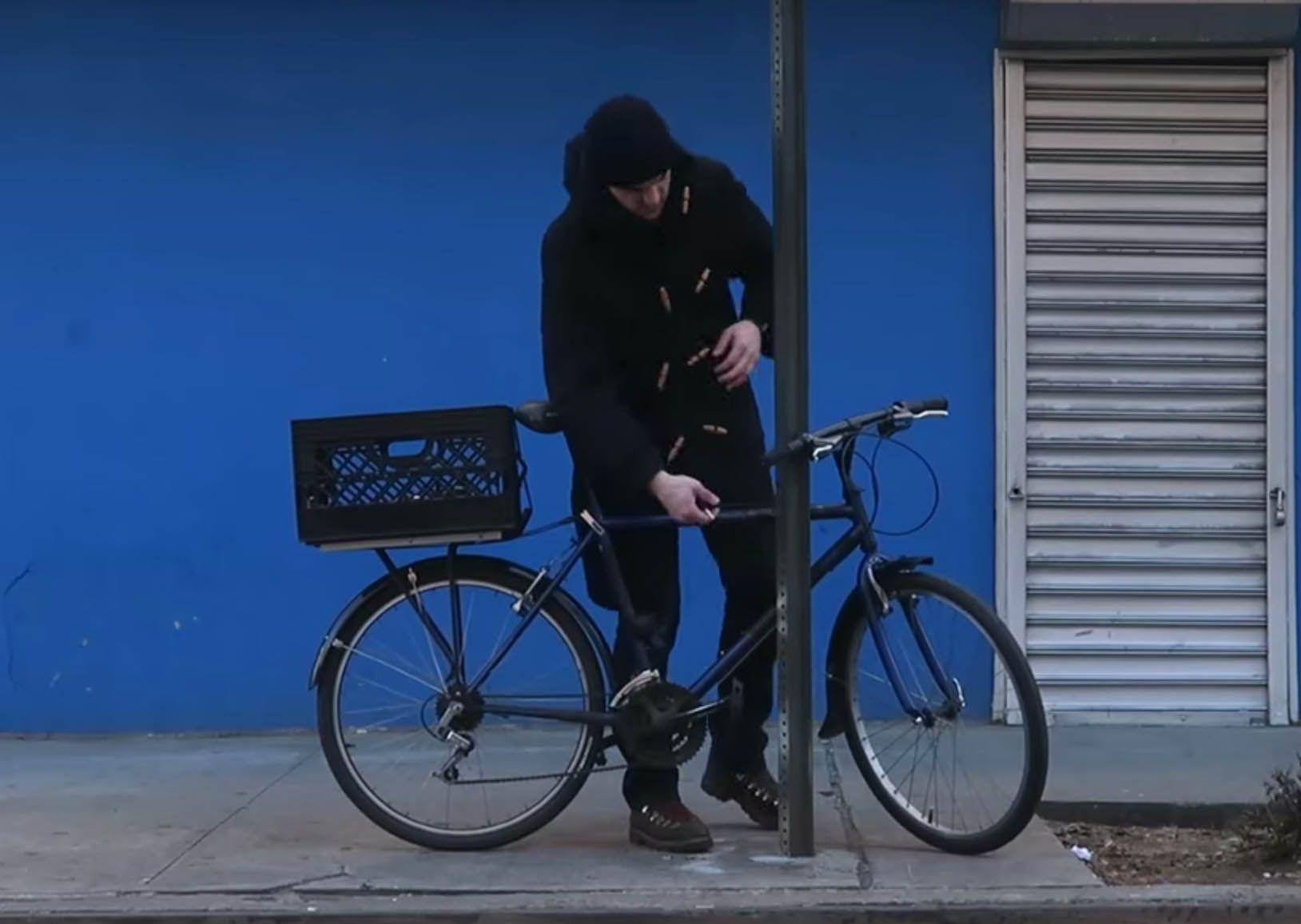 Panier de vélo détachable