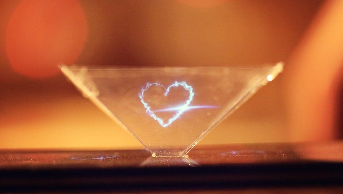 Hologrammes avec un smartphone
